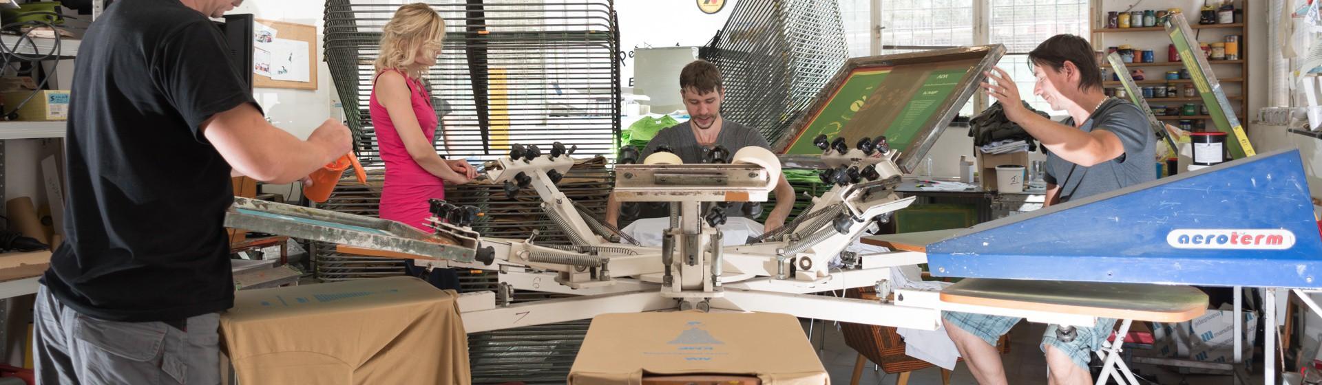 Výroba tričiek