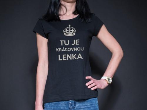 """Dámske tričko """"Kráľovna"""""""